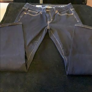 Gap curvy 26s dark denim jeans